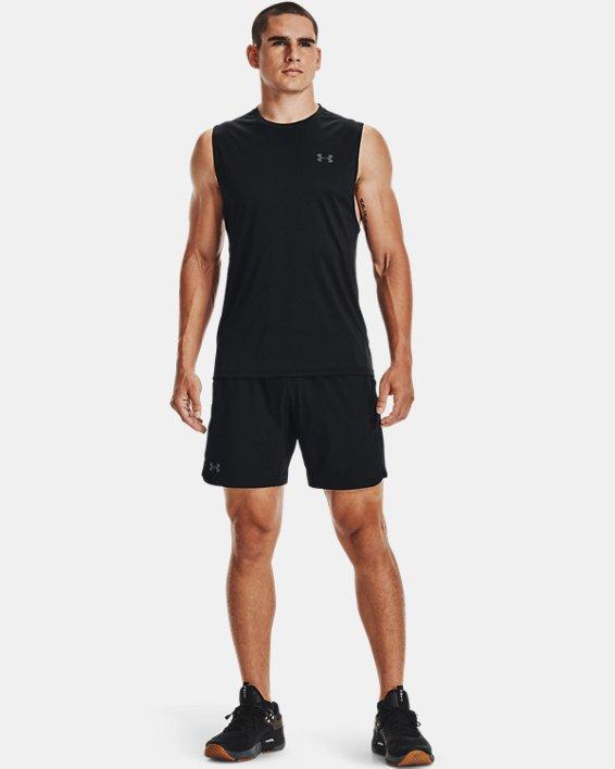 Men's UA Velocity Muscle Tank, Black, pdpMainDesktop image number 1