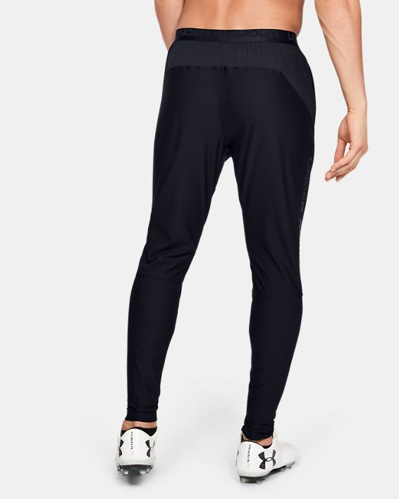 Men's UA Accelerate Pro Pants, Black, pdpMainDesktop image number 2