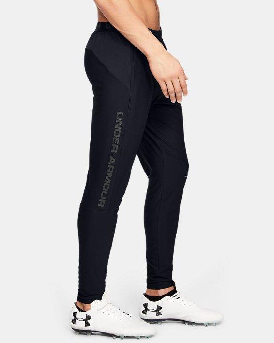 Men's UA Accelerate Pro Pants, Black, pdpMainDesktop image number 3