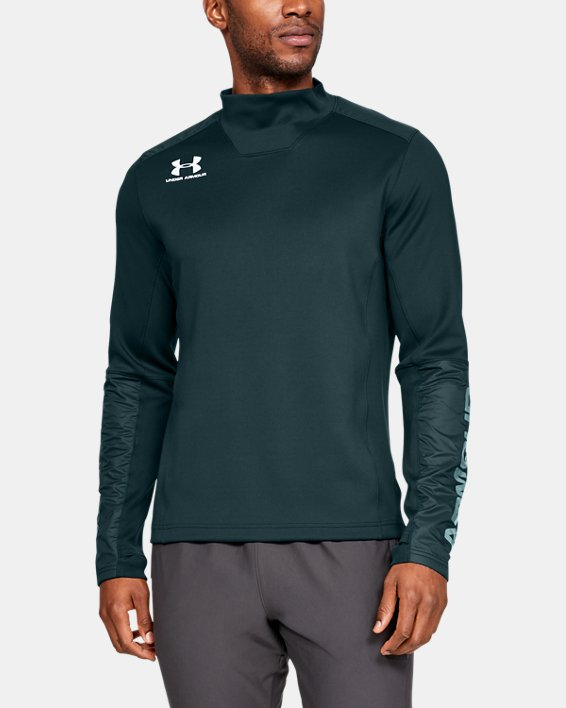Men's UA Accelerate Pro Midlayer, Green, pdpMainDesktop image number 0
