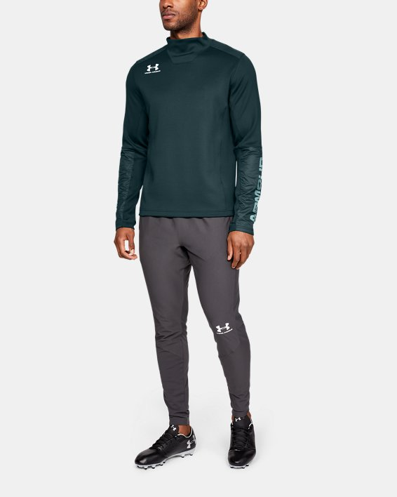 Men's UA Accelerate Pro Midlayer, Green, pdpMainDesktop image number 1