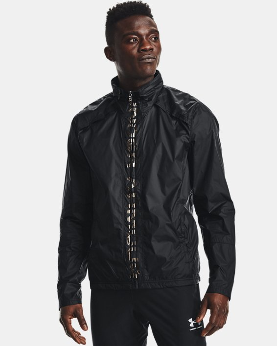 Men's UA Storm Accelerate Pro Shell Jacket, Black, pdpMainDesktop image number 2