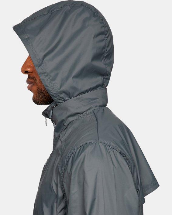 Men's UA Storm Accelerate Pro Shell Jacket, Gray, pdpMainDesktop image number 6