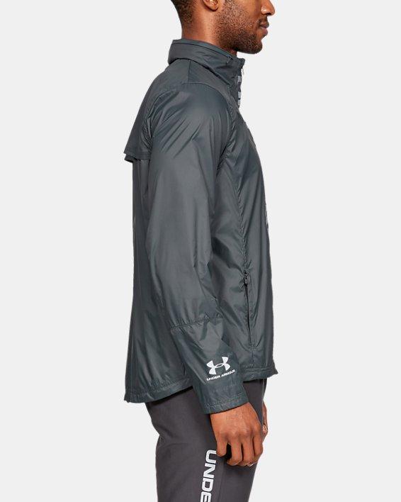 Men's UA Storm Accelerate Pro Shell Jacket, Gray, pdpMainDesktop image number 3