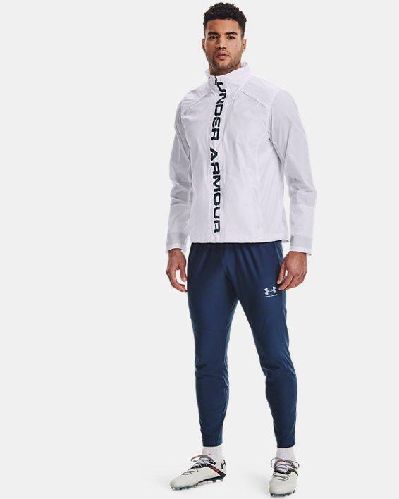Men's UA Storm Accelerate Pro Shell Jacket, White, pdpMainDesktop image number 0