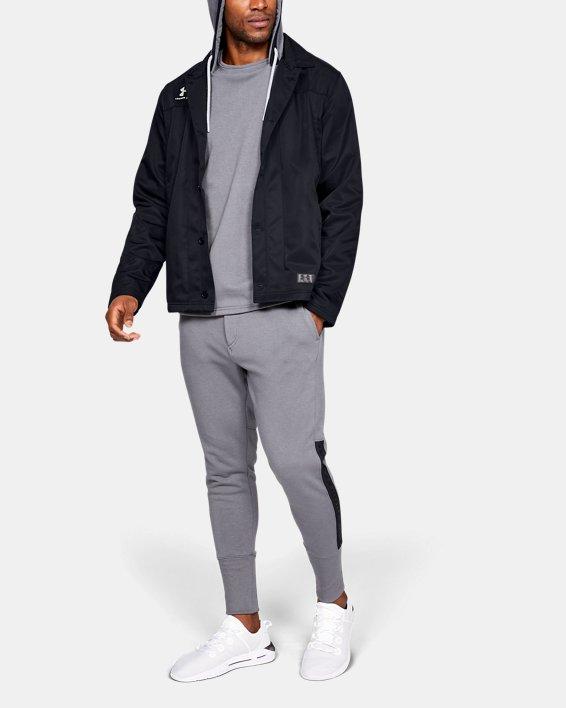 Men's UA Accelerate Touchline Jacket, Black, pdpMainDesktop image number 1