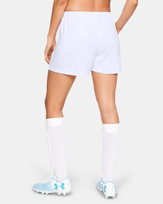 Women's UA Maquina 2.0 Shorts, White, pdpMainDesktop image number 2