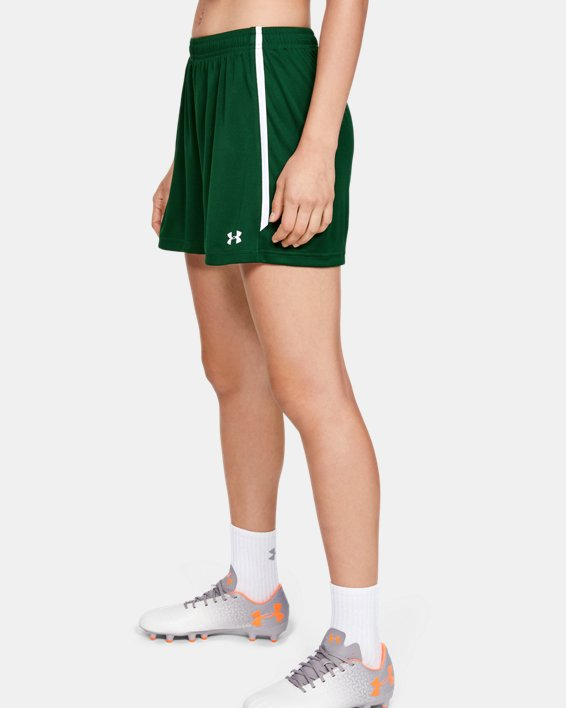 Women's UA Maquina 2.0 Shorts, Green, pdpMainDesktop image number 3