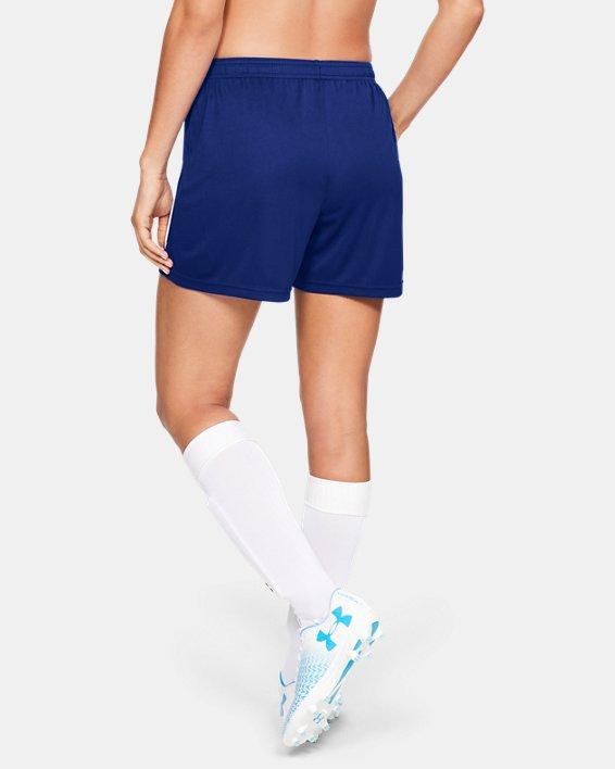 Women's UA Maquina 2.0 Shorts, Blue, pdpMainDesktop image number 2
