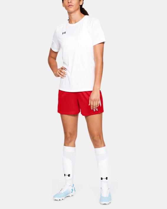 Women's UA Maquina 2.0 Shorts, Red, pdpMainDesktop image number 1