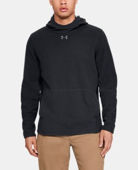 New Arrival Men's UA Zephyr Fleece Solid Hoodie  1  Color Available $65