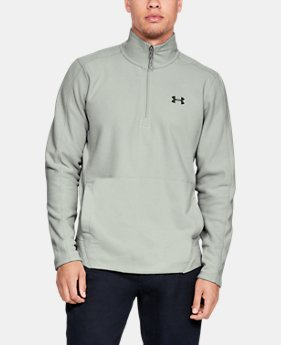Men's UA Zephyr Fleece Solid ¼ Zip LIMITED TIME ONLY 5  Colors Available $56