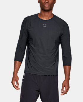 New Arrival  Men's UA Perpetual Run ¾ Sleeve   $80