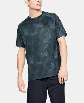 86861451de65 Men's UA Tech™ Printed Short Sleeve 10 Colors Available $25