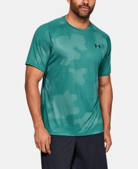 b1c1967a794 New to Outlet Men's UA Tech™ Printed Short Sleeve 5 Colors Available $14.99  to $20.99