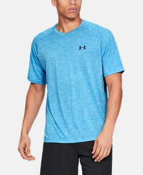 ad4ae0f56d5 New to Outlet Men's UA Tech™ V-Neck Short Sleeve 3 Colors Available $18.99