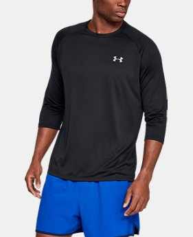 New Arrival Men's UA Tech™ ¾ Sleeve FREE U.S. SHIPPING 5  Colors Available $30