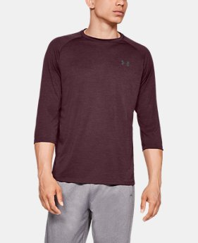 New Arrival  Men's UA Tech™ ¾ Sleeve  5  Colors Available $35
