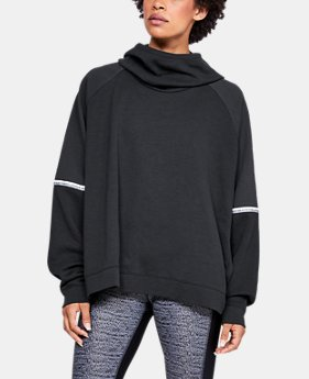 Women's UA Unstoppable Double Knit Oversize Hoodie  3  Colors Available $85