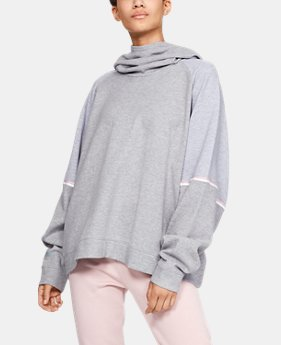 New Arrival  Women's UA Unstoppable Double Knit Oversize Hoodie  1  Color Available $85