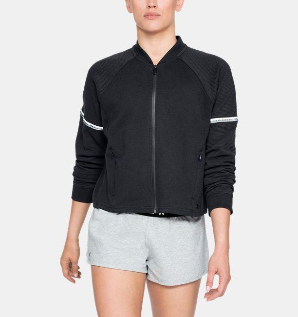 3a0484e1b Women's UA Unstoppable Double Knit Bomber Jacket