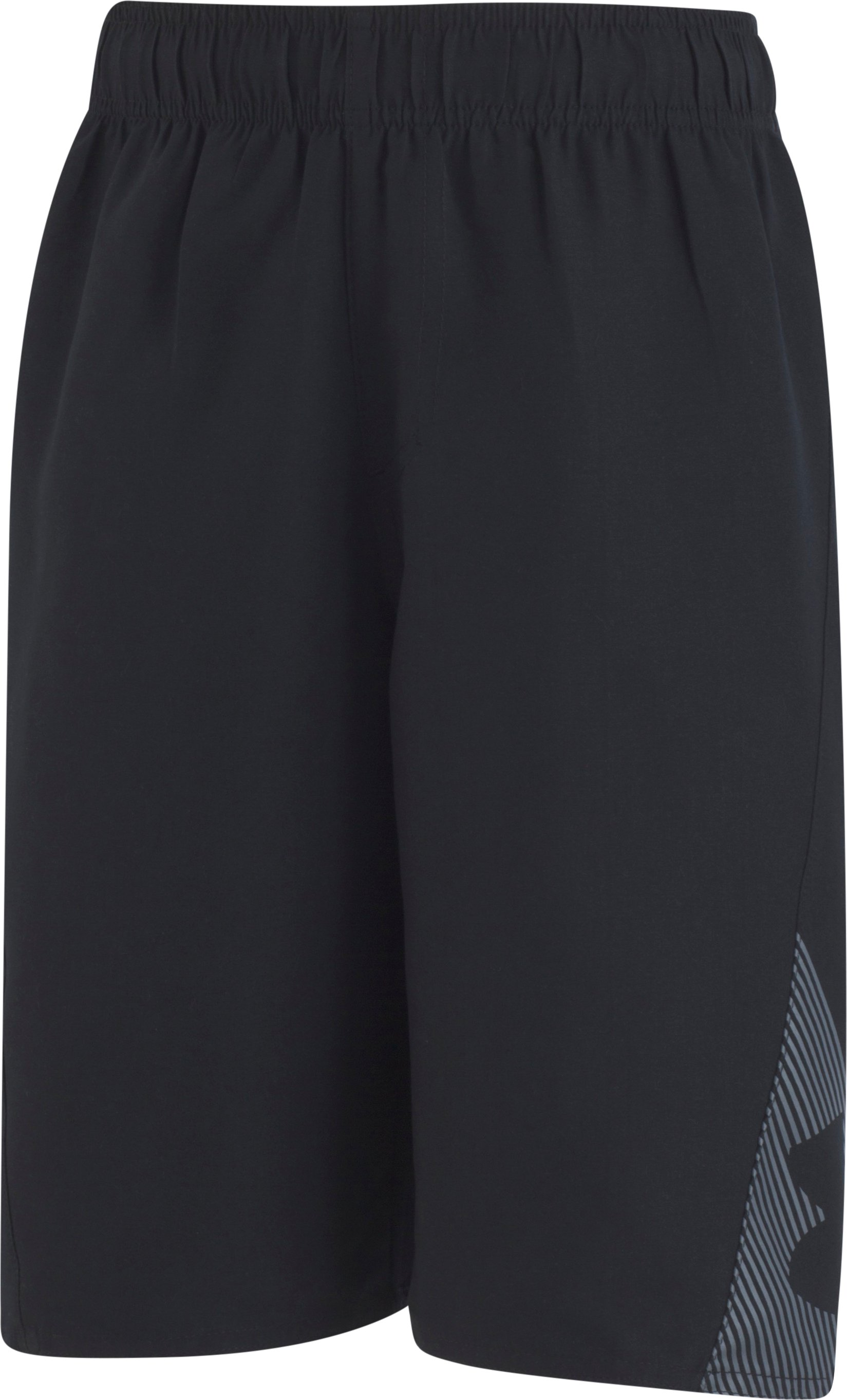Boys' UA Slash Volley, Black , Laydown