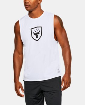 New Arrival Men's UA x Project Rock Muscle Tank  2 Colors $34.99