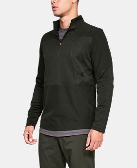 New Arrival Men's UA Storm Cyclone ColdGear® ½ Zip  1  Color Available $70