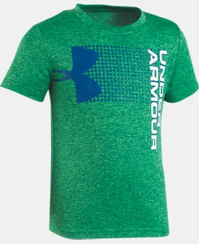Boys' Toddler UA New Hybrid Big Logo T-Shirt    $22