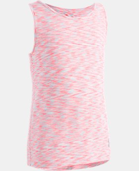 New Arrival Girls' Pre-School UA Twist Tank   1  Color $22