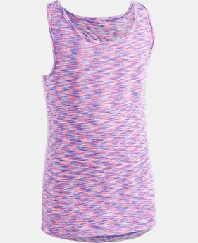 Girls' Pre-School UA Twist Tank  FREE U.S. SHIPPING 2  Colors Available $22