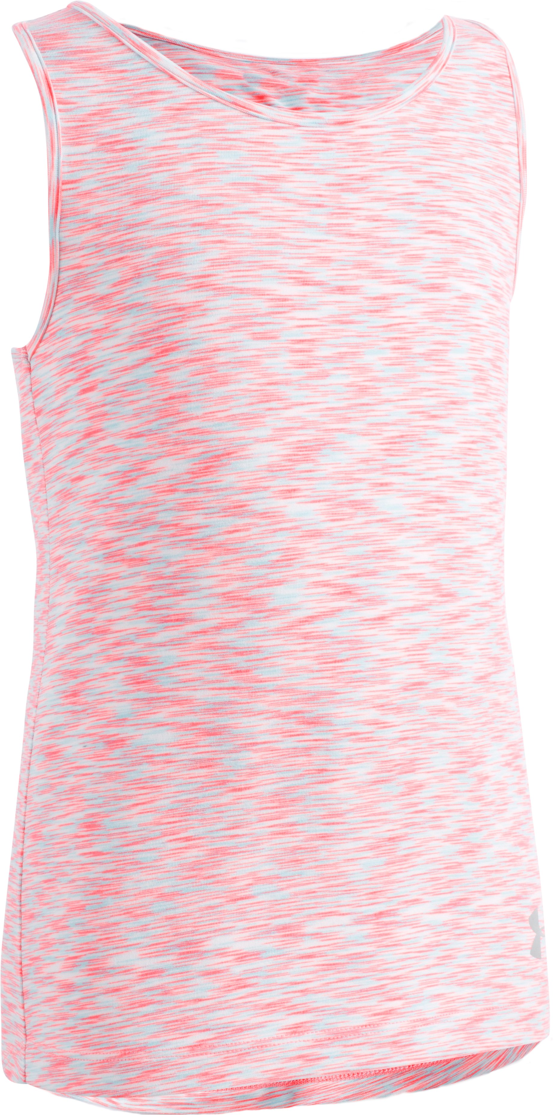 Girls' Toddler UA Twist Tank, BRILLIANCE, Laydown