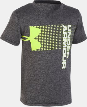 Boys' Pre-School UA New Hybrid Big Logo T-Shirt FREE U.S. SHIPPING 1  Color Available $22