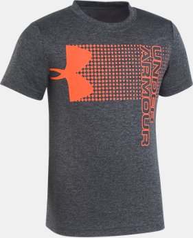 Boys' Pre-School UA New Hybrid Big Logo T-Shirt  3  Colors Available $23
