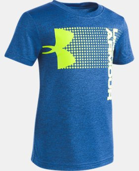 Boys' Pre-School UA New Hybrid Big Logo T-Shirt  2  Colors Available $22