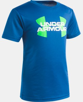 Boys' Pre-School UA Big Logo T-Shirt  1  Color Available $18