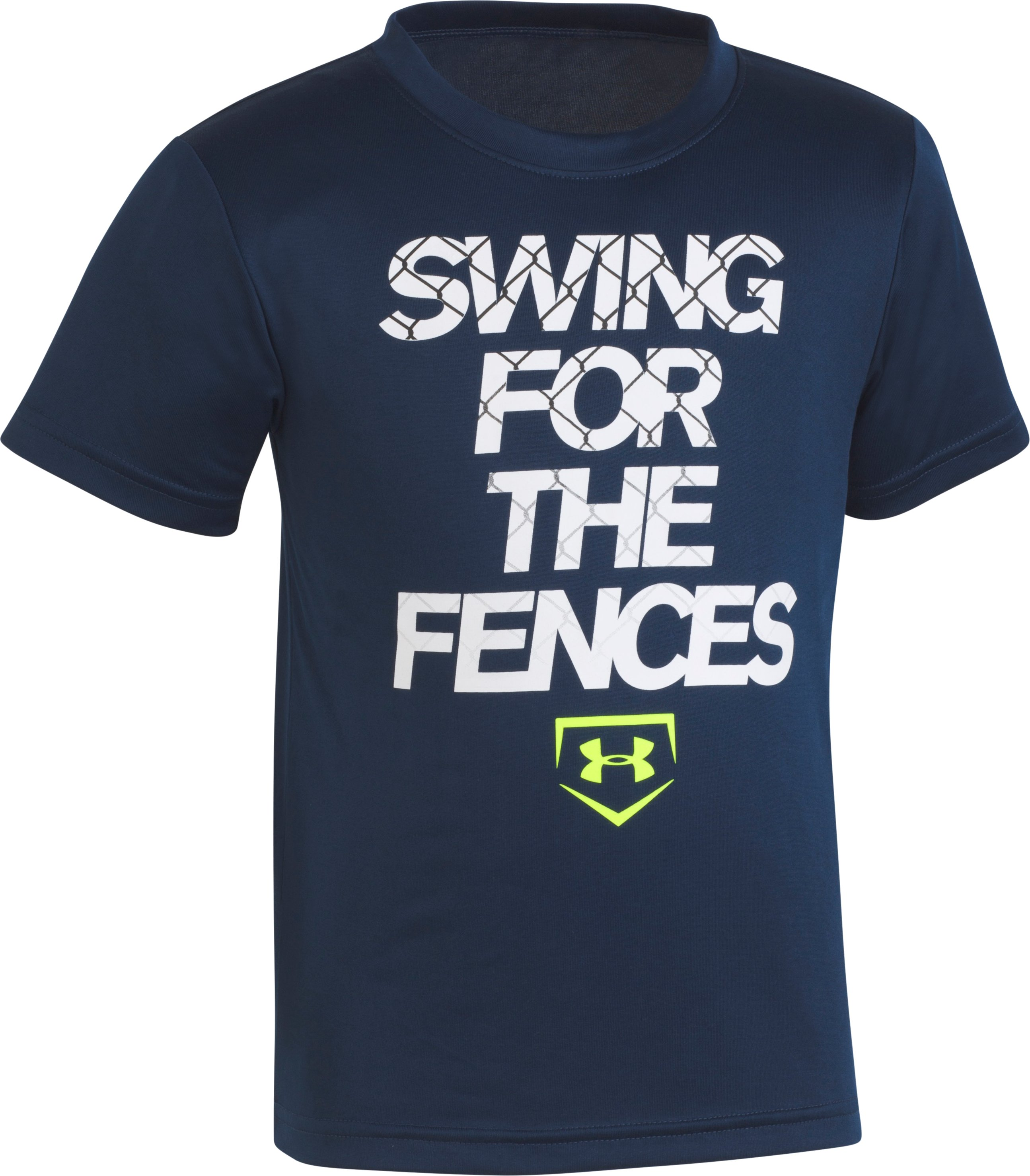 Boys' Pre-School UA Swing For The Fences T-Shirt , Academy, zoomed