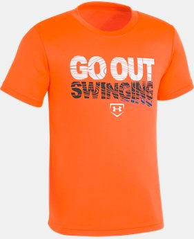 Boys' Toddler UA Go Out Swinging T-Shirt  LIMITED TIME: FREE U.S. SHIPPING 1  Color Available $18