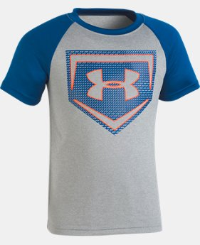Boys' Pre-School UA Sync Home Plate T-Shirt  1  Color Available $20