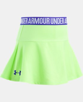 Girls' Pre-School UA On The Move Skort  1  Color $25
