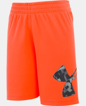 New Arrival Boys' Pre-School UA Wordmark Striker Shorts  1  Color $22