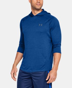 Men's UA Tech™ 2.0 ¾ Sleeve Hoodie  1  Color Available $45