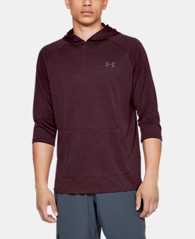 Men's UA Tech™ ¾ Sleeve Hoodie  1  Color Available $35
