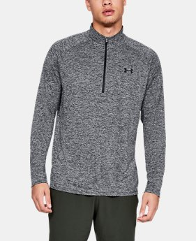 New Arrival  Men's UA Tech™ 2.0 ½ Zip Long Sleeve   $50