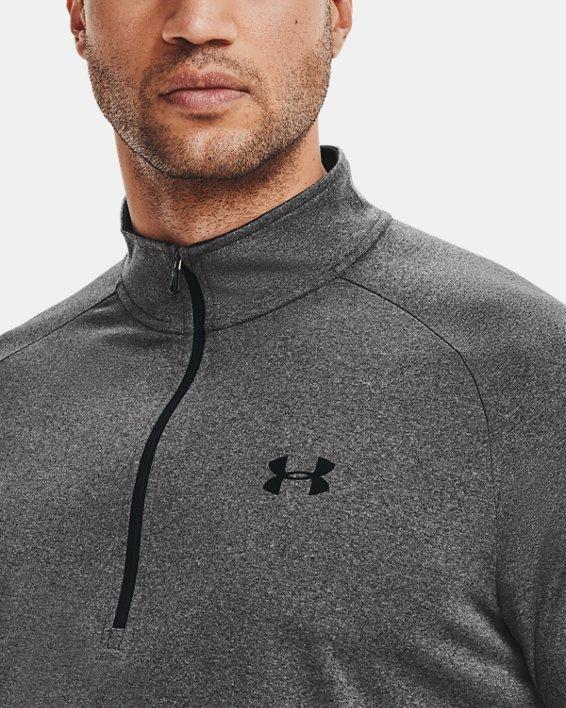 Men's UA Tech™ ½ Zip Long Sleeve, Gray, pdpMainDesktop image number 4