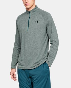 c452f7298e8 Men's UA Tech™ ½ Zip Long Sleeve 2 Colors Available $40
