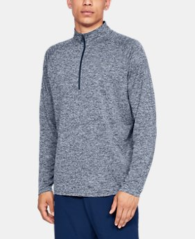 Men's UA Tech™ ½ Zip Long Sleeve  2  Colors Available $24 to $30
