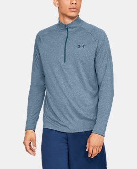 bf2ce98bbb6 Men's UA Tech™ ½ Zip Long Sleeve 1 Color Available $29.97 to $30.99