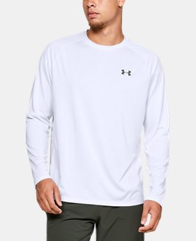 New Arrival Men's UA Tech™ Long Sleeve FREE U.S. SHIPPING 1  Color Available $30