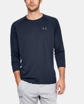 Men's UA Tech™ 2.0 Long Sleeve  2  Colors Available $30
